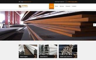 STEEL - Service Center Responsive Modern HTML Website Template