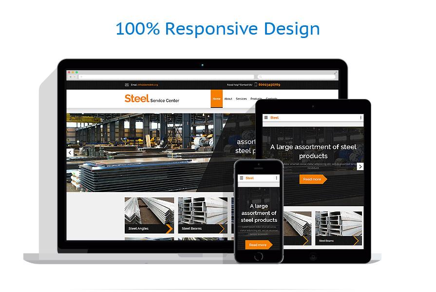 Modèles HTML5 Industriel #57819