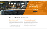 STEEL - Service Center Responsive Modern HTML Website Template