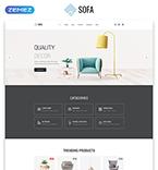 Furniture Website  Template 57820