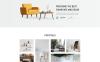 """Sofa - Furniture Multipage Modern HTML"" modèle web adaptatif Grande capture d'écran"