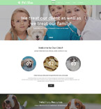 Animals & Pets Website  Template 57828