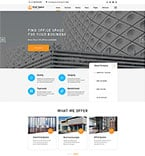 Real Estate Website  Template 57829