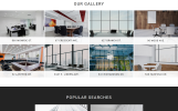 """Real Space - Real Estate Modern Multipage HTML5"" Responsive Website template"