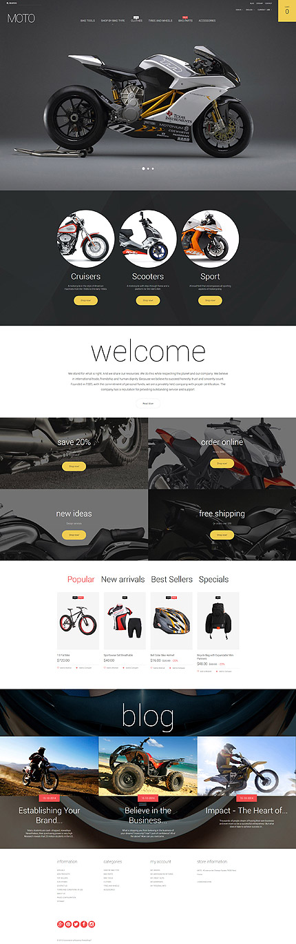 ADOBE Photoshop Template 57832 Home Page Screenshot