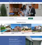 Real Estate Website  Template 57833