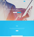 Communications Website  Template 57837