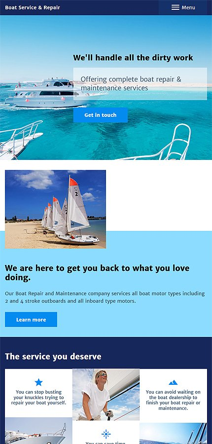 Joomla Theme/Template 57845 Main Page Screenshot