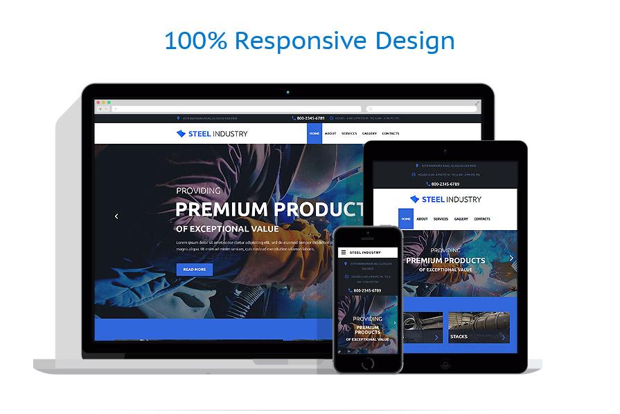 Modèles HTML5 Industriel #57852