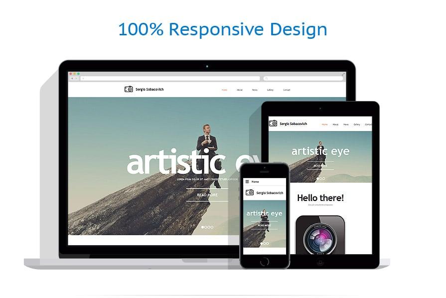 Modèles HTML5 Art et Photographie #57853