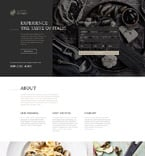 Cafe & Restaurant Landing Page  Template 57854