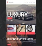 Cars Website  Template 57857