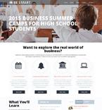 Education Website  Template 57861