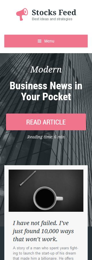 WordPress Theme/Template 57865 Main Page Screenshot