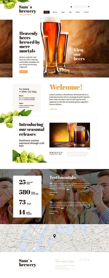 Joomla Theme/Template 57870 Main Page Screenshot