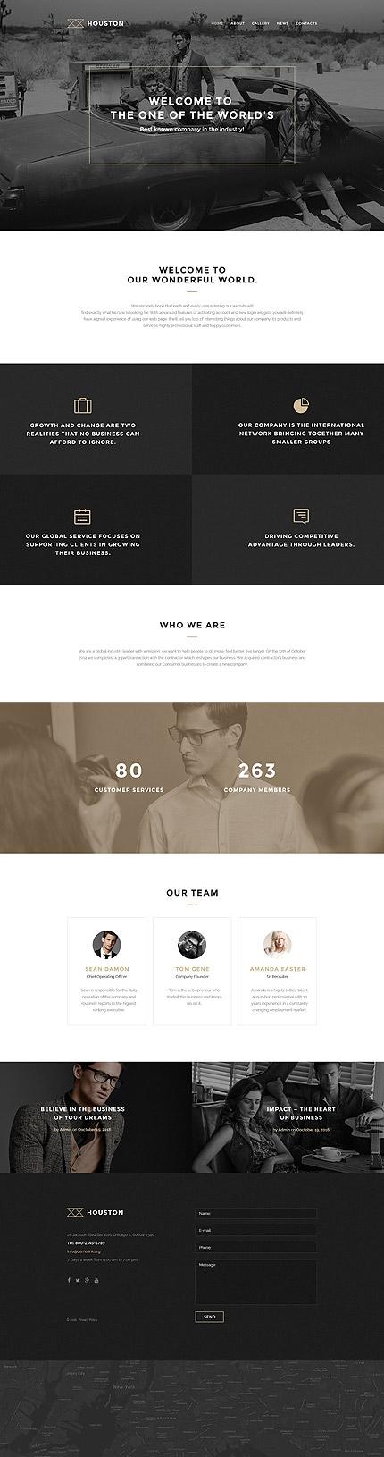 WordPress Theme/Template 57875 Main Page Screenshot