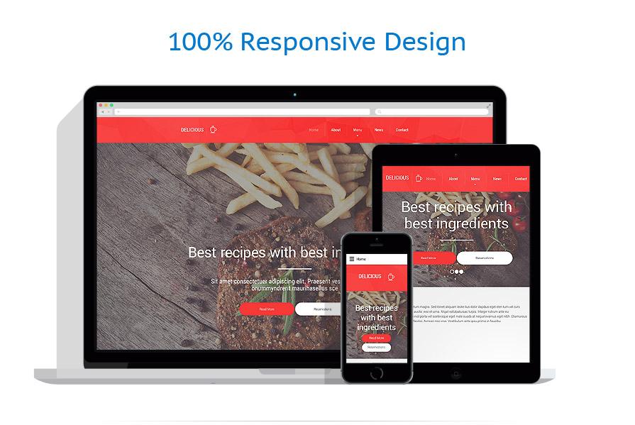Modèles HTML5 Café et Restaurant #57878