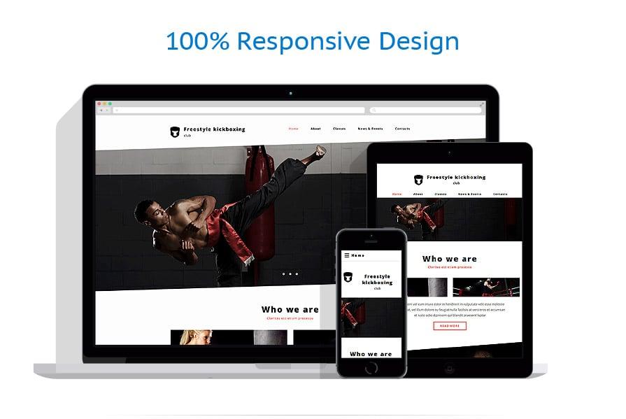 Modèles HTML5 Sport #57881