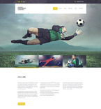 Sport Website  Template 57882