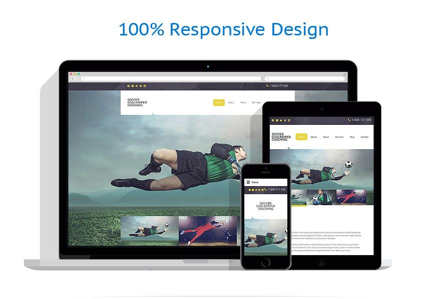 Modèles HTML5 Sport #57882