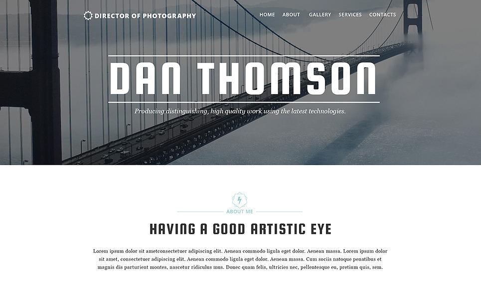 Template Web Flexível para Sites de Portfólio de Fotografo №57883 New Screenshots BIG