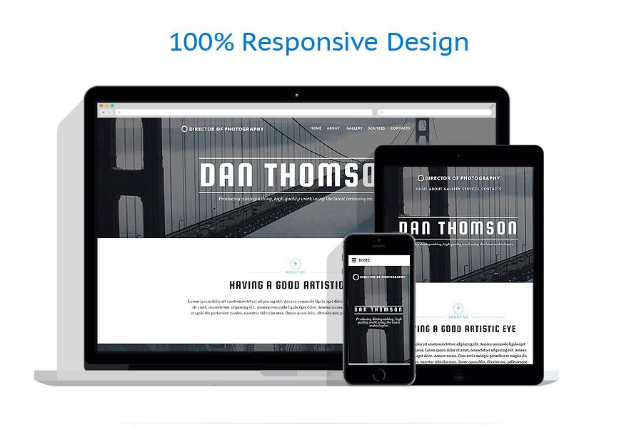 Modèles HTML5 Art et Photographie #57883