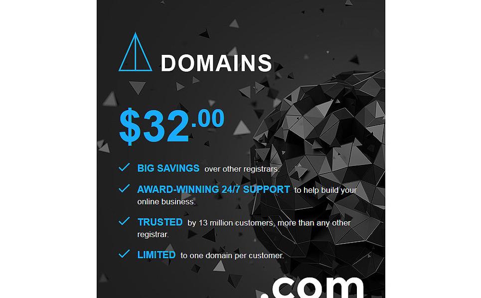 Responsive Nieuwsbrief Template over Domain Registrar New Screenshots BIG