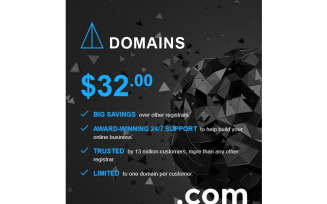 Domain Registrar Responsive Newsletter Template