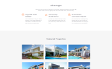 """Jack Smith - Real Estate Multipage Clean HTML"" modèle web adaptatif"