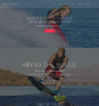 Sport Website  Template 57890