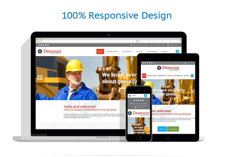 Modèles HTML5 Industriel #57893