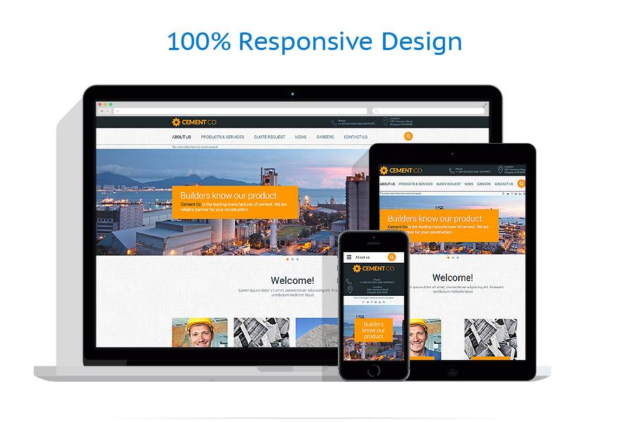 Modèles HTML5 Industriel #57896