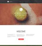 Sport Website  Template 57897