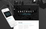 """Abstract - Business Responsive"" - адаптивний Шаблон сайту"