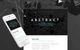 """""""Abstract - Business Responsive"""" Responsive Website template"""