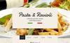 Адаптивный HTML шаблон №57848 на тему итальянский ресторан New Screenshots BIG