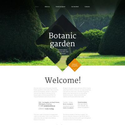 27+ Best Garden Design Website Templates