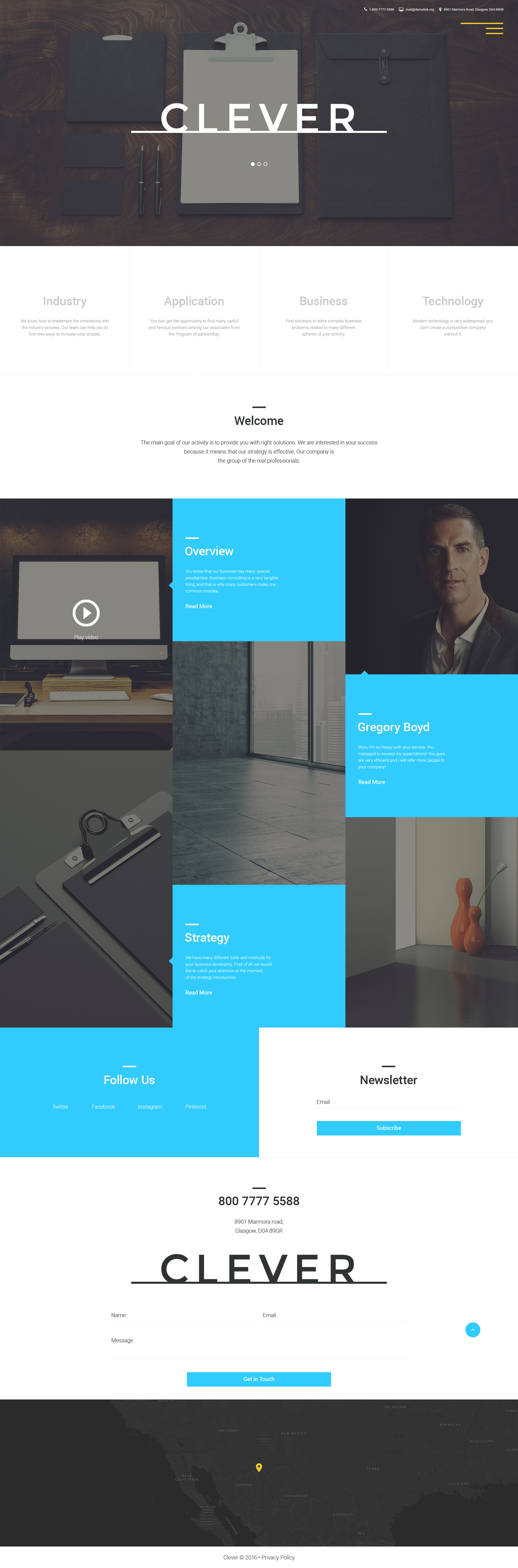 Business & Services Responsive Joomla Template