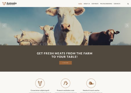 Cattle Farm Responsive