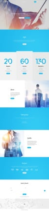 Connect Website Template New Screenshots BIG