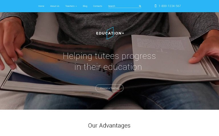 Education Drupal Template