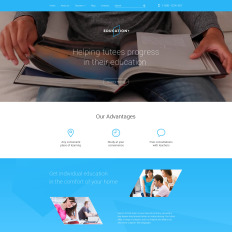 drupal themes for education
