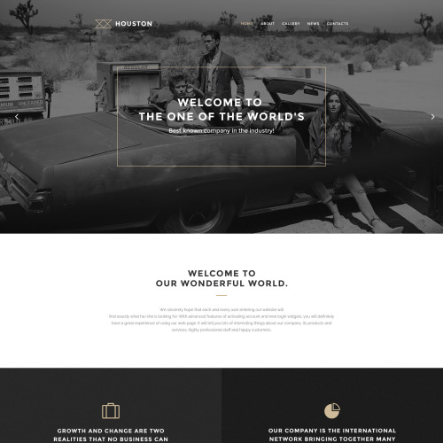 Houston - WordPress Template based on Bootstrap