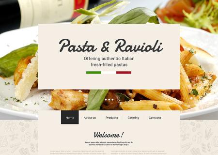 Italian Restaurant Responsive