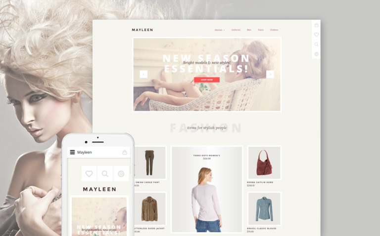 Mayleen OpenCart Template New Screenshots BIG