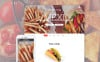 Modèle Web adaptatif  pour restaurant mexicain New Screenshots BIG