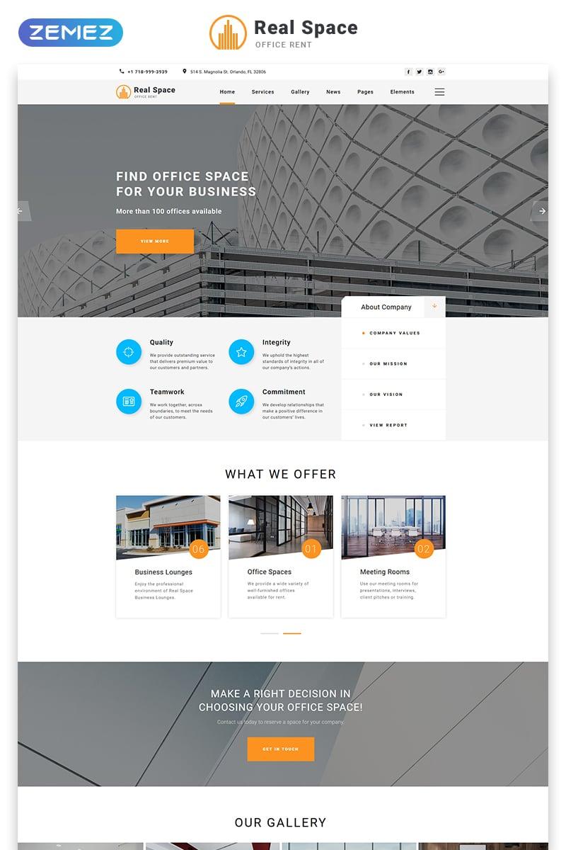 Real Estate Agency Templates | TemplateMonster