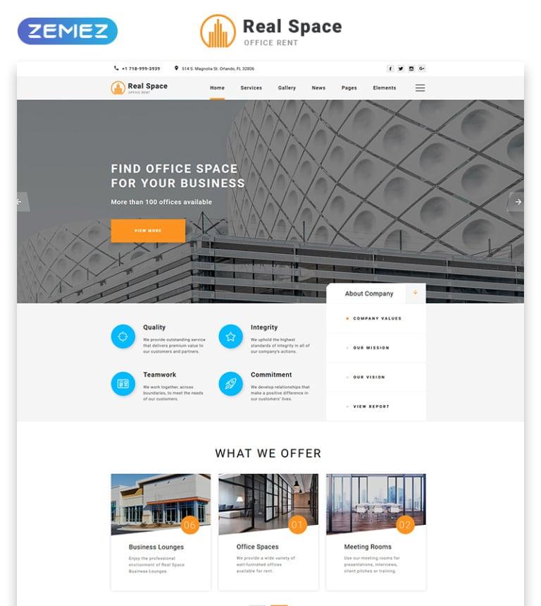Modele Web Adaptatif 57829 Pour Site Dagence Immobiliere