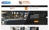 Responsive STEEL - Service Center Responsive Modern HTML Web Sitesi Şablonu