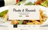 Responsive Website template over Italiaans restaurant  New Screenshots BIG